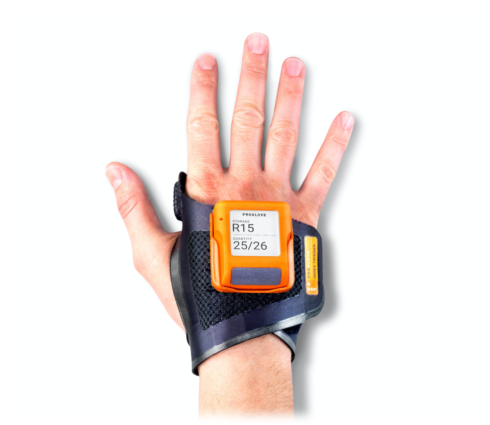 MARK Display scanner with index trigger wearable