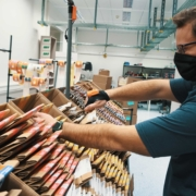 Nick on the frontline for our manufacturing pivot