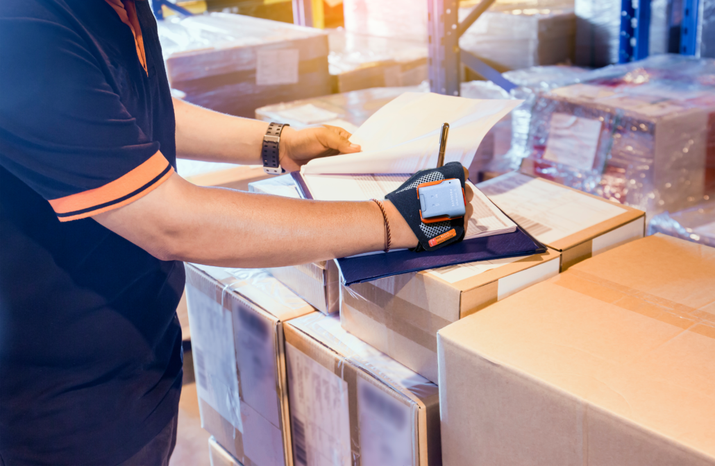 Wearable Barcode Scanners Paperless Warehouse Processes