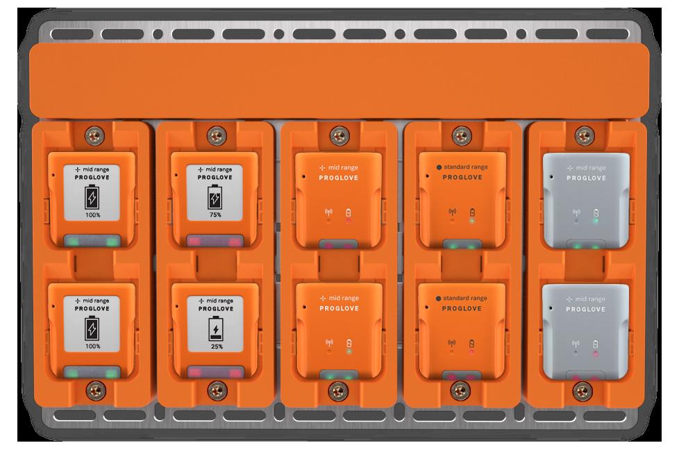 Neues ProGlove Zubehör erleichtert das Aufladen von Barcode Scannern deutlich